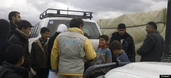 Reaching Displaced Families With Vital Relief Supplies in