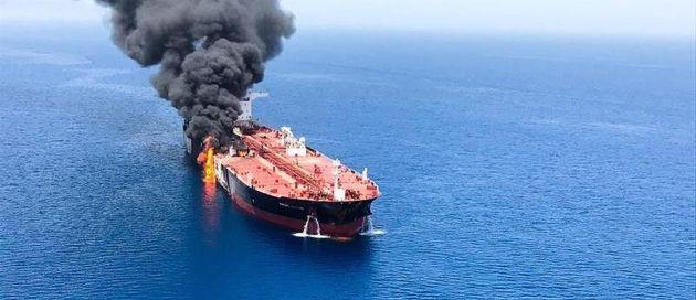 Estados Unidos acusa a Irán de ser responsable de los ataques a los petroleros en el golfo de