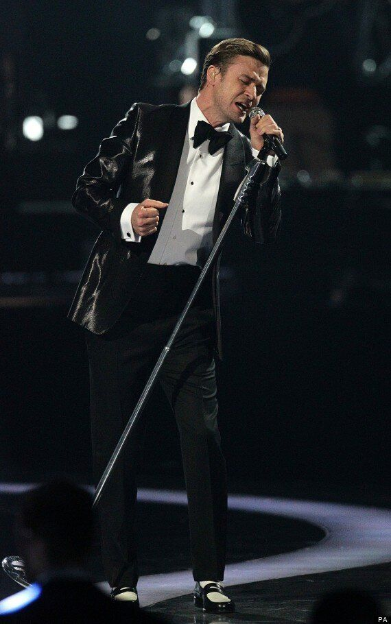 BRITS 2013: Justin Timberlake Takes To Stage With 'Mirrors', First Brits Appearance Since THAT Kylie