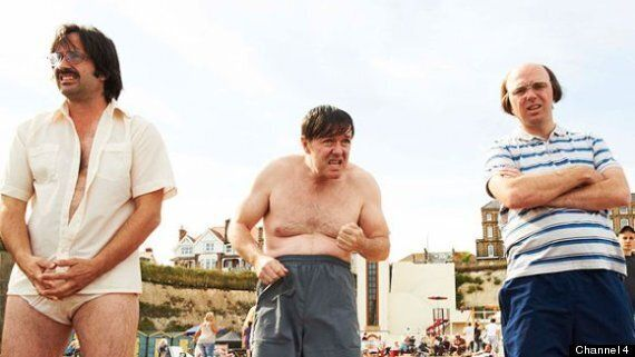TV Review: Derek Episode 4 - A Beach Outing Warms the Cockles of our Thawing