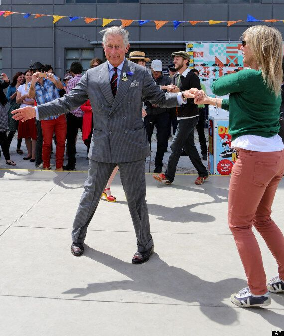 Prince Charles And Camilla Ballroom Dance To Jazz In New Zealand