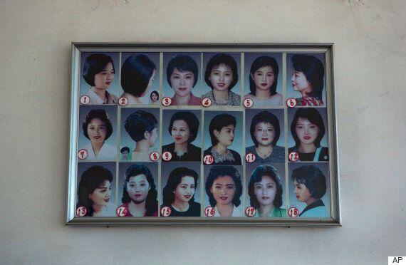 North Korean Hairstyles: Pyongyang Salons Display Menus Of State Sanctioned Trims