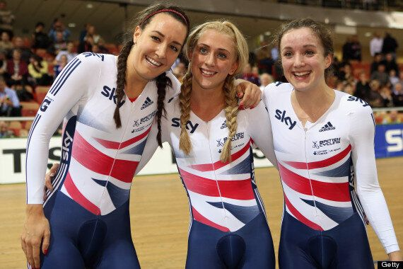 Great Britain Win Gold At 2013 Track Cycling World Championships