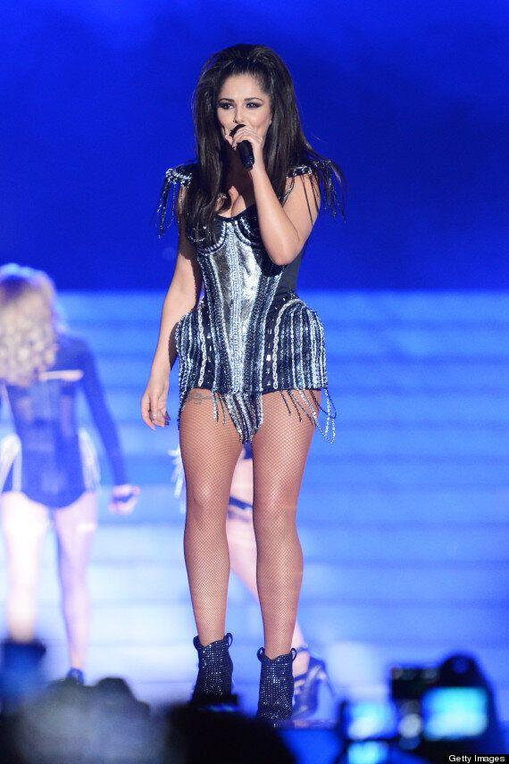 Cheryl Cole New Tattoo: Singer Debuts Huge New Back Inking As Girls Aloud Tour Kicks Off