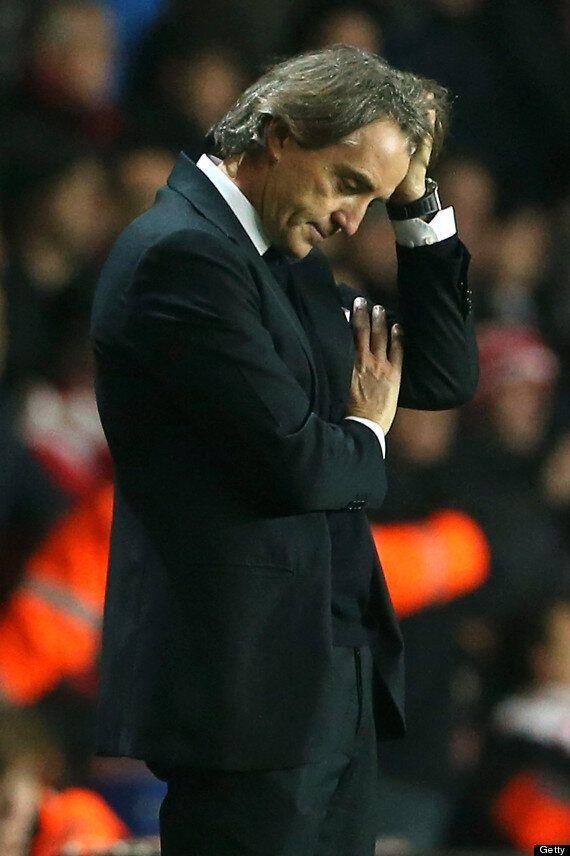 Robeto Mancini Astonished At Manuel Pellegrini Manchester City