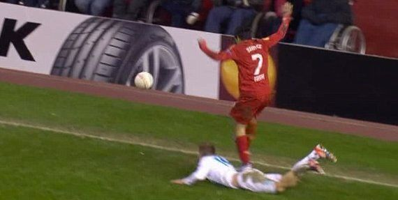 Luis Suárez To Face Ban For Europa League Stamp?