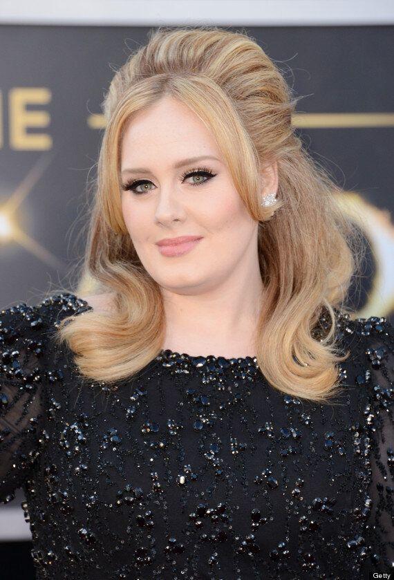 Oscars 2013: Adele Wears Black Shocker