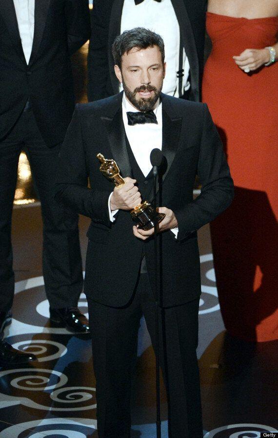 OSCARS 2013: Ben Affleck's Emotional Speech After 'Argo' Best Picture Win, Jennifer Lawrence, Daniel...