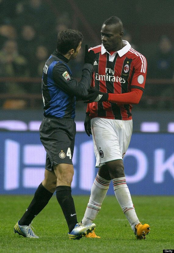 Mario Balotelli Racially Abused In Milan Derby