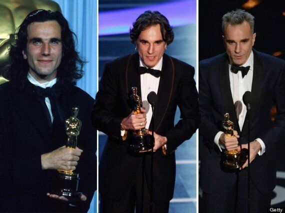 Daniel Day-Lewis Makes Oscars History By Scooping Third Trophy At 2013 Academy Awards (PICTURES,