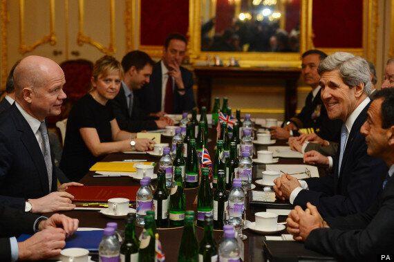 John Kerry And David Cameron Avoid Falklands And EU Exit During