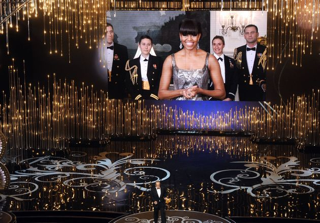 Oscars 2013 Cover-up: Iran Photoshops Michelle Obama Into A Demure Dress