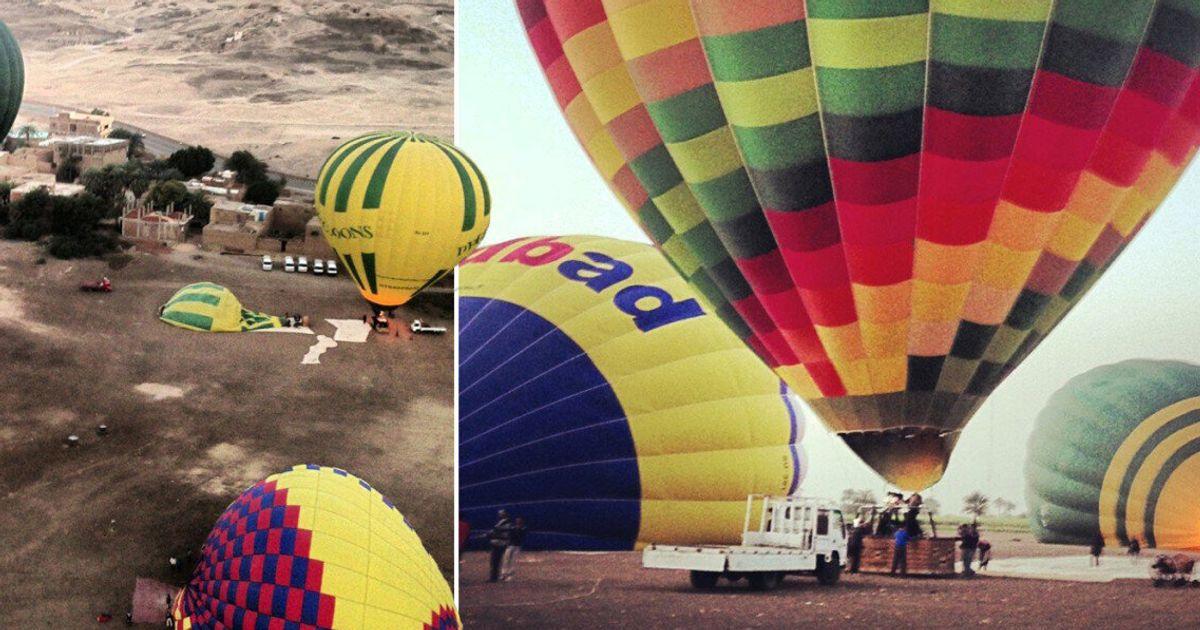 Gallery: Fatal Egypt hot air balloon crash   Globalnews.ca