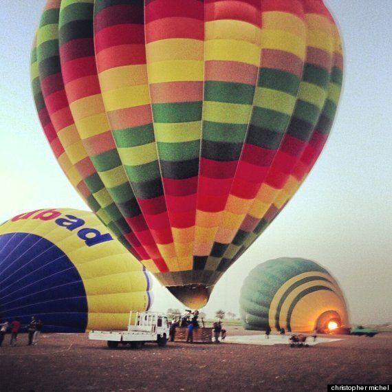 Three British Tourists Killed In Hot Air Balloon Crash In Luxor, Egypt (VIDEO,