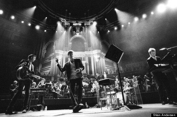 PICTURES: A-Ha Captured On Tour In New Photograph Exhibition At London's Strand