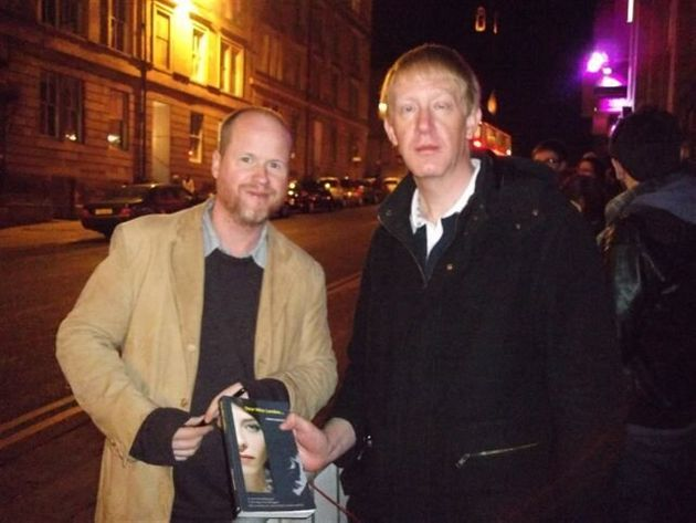 Just the Other Day, met Joss Whedon Along the