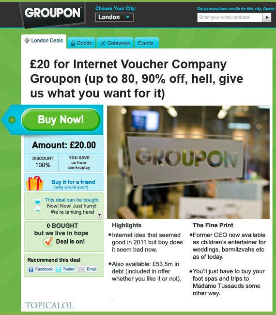 Check Out Groupon's Latest Amazing Deal