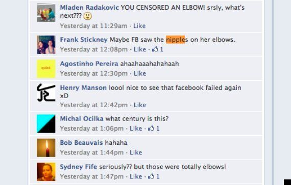 Facebook Bans Image Of Woman In Bathtub - But Have They Just Mistaken Her Elbows For