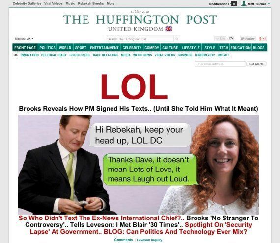 Leveson Inquiry's Best Moments, From Cameron's Texts To Rebekah's