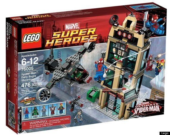 REVIEW: Lego Super Heroes 'Spider-Man: Daily Bugle Showdown'