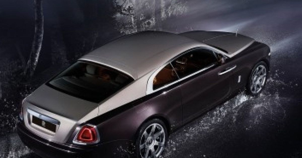 Rolls Royce Unveils The Wraith 163 200k Car Features Night