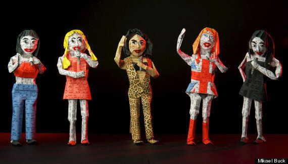 Origami Pop Stars, Made From Ticket Stubs, Re-Invent The Historic