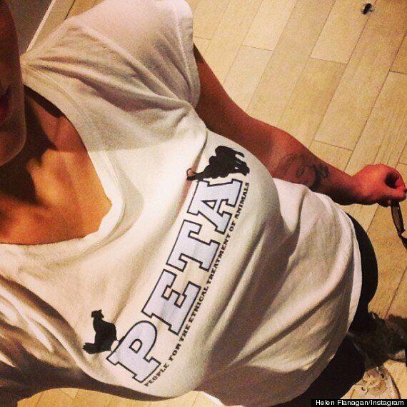 Helen Flanagan Under Fire For Designer Leather Handbags, Despite Supporting PETA