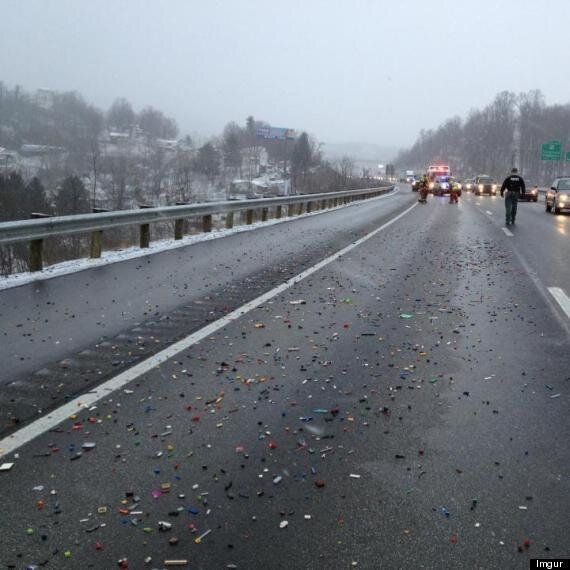 Lego Spill On Virginia Highway Shuts Down Lane