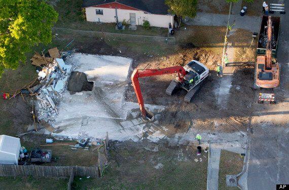 Florida Sinkhole: House Of Victim Jeffrey Bush Demolished And Chasm Filled With