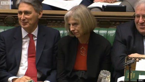 PMQS: Ed Miliband Anoints Theresa May As Tory Leader, Home Secretary Kills Him With Death