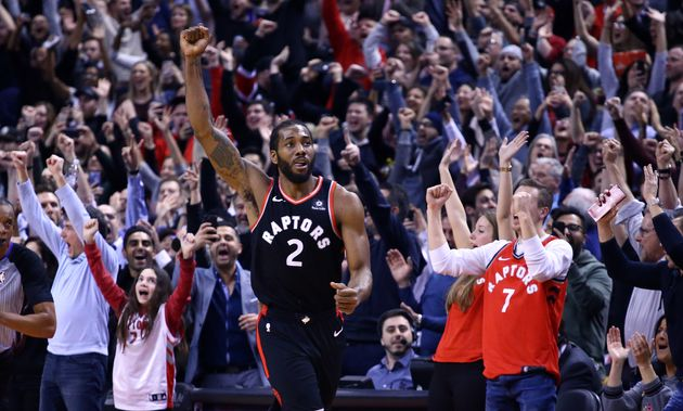 Kawhi Leonard of the Toronto