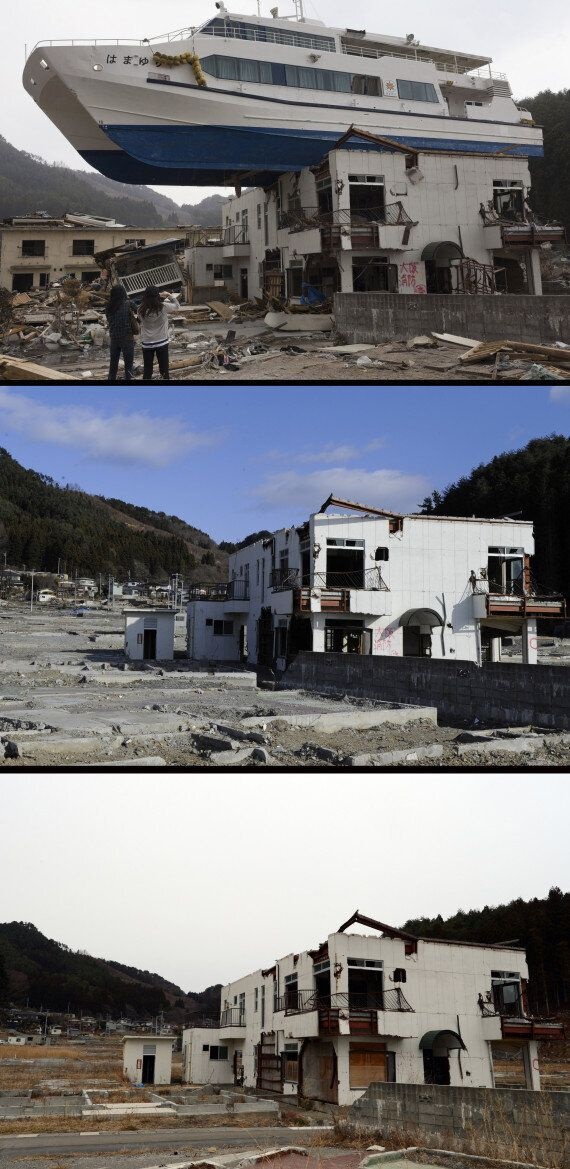 Japan Earthquake And Tsunami: Dramatic Pictures Mark Two-Year Anniversary