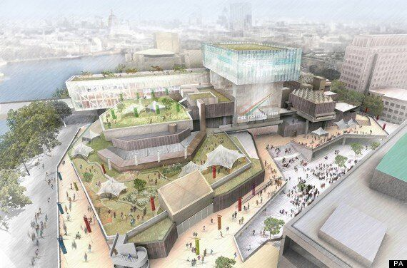 London's Southbank To Be Transformed With New Venues And Giant Glass