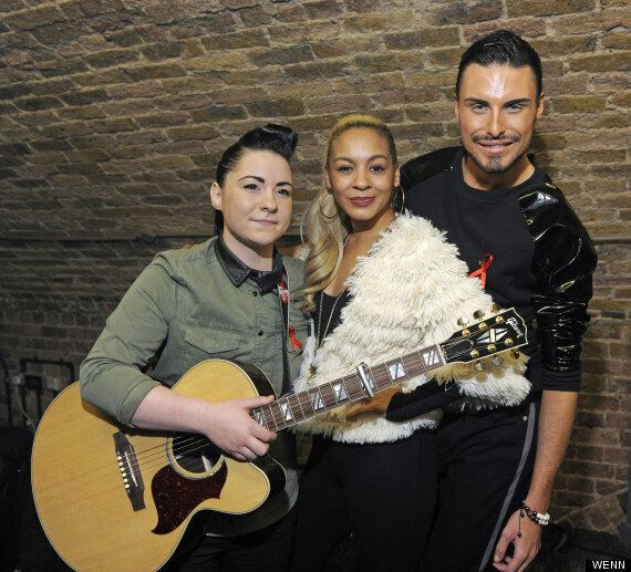 'X Factor': Rylan Clark Reunited With Lucy Spraggan And Jade Ellis At G-A-Y Performance