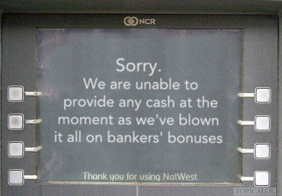 RBS And NatWest Fail: What Bank Customers Saw On Wednesday