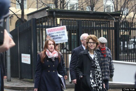 Vicky Pryce Trial: Anti-Nuclear Campaigner Stuart Holmes Reveals Why He Is Protesting At