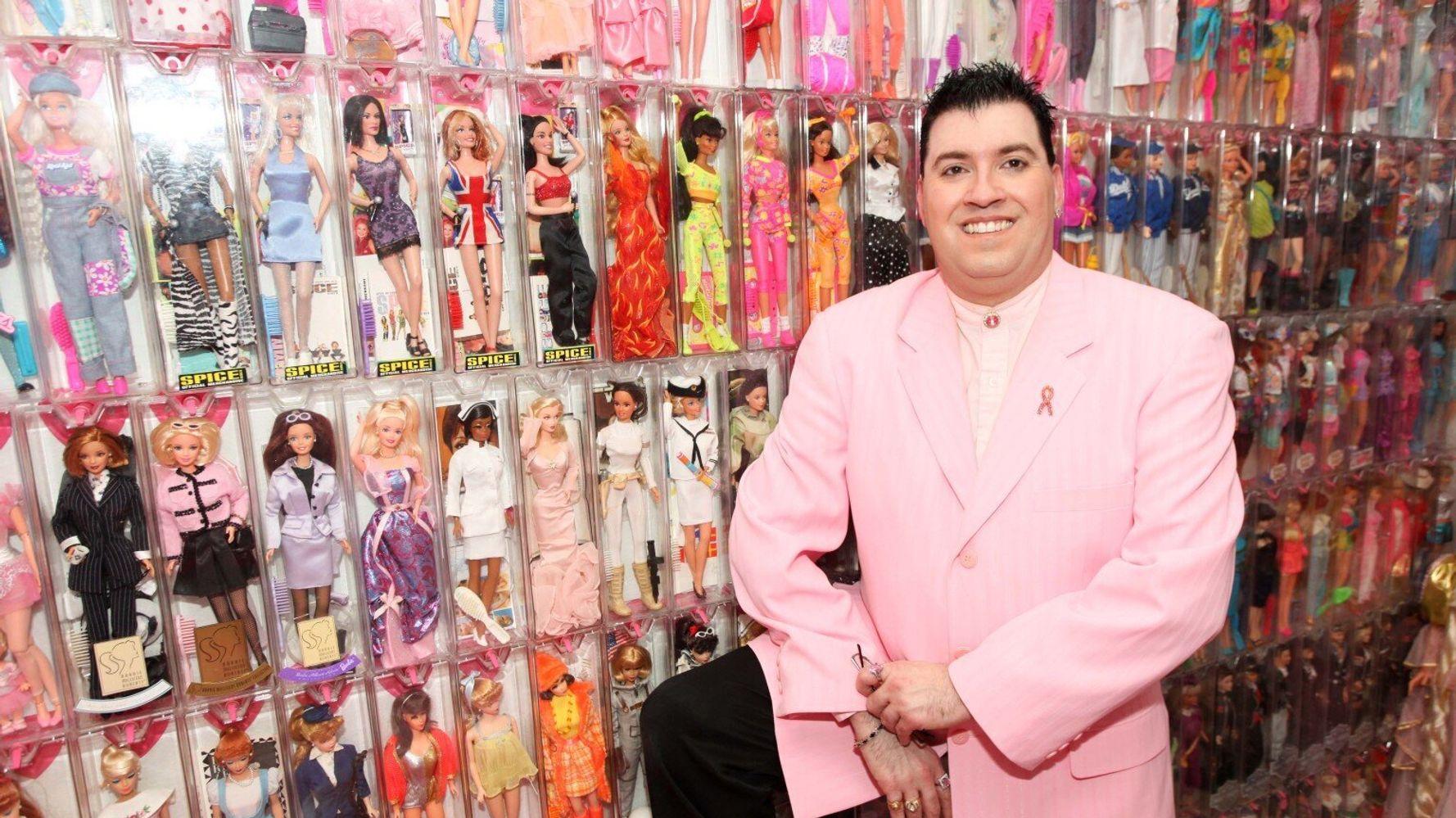 'Barbie Man' Stanley Colorite Owns 3,000 Barbie & Ken