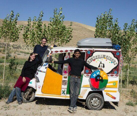Crossing Borders: The Rickshaw Circus - Part