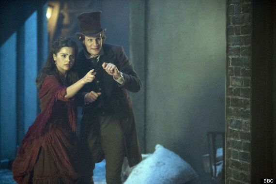 Dr Who Christmas Specials.Doctor Who Christmas Special The Snowmen In Pictures