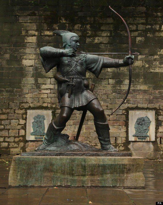 Robin Hood Was 'Freedom Fighter Attacking The French' Claims