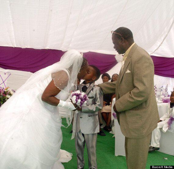 Sanele Masilela, 8, 'Marries' Mother-Of-Five Helen Shabangu, 61, In Tshwane, South Africa