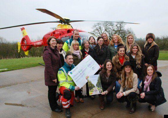 Naked 'Game Birds' Calendar Commemorating Richard Warr Raises £30,804 For Midlands Air Ambulance