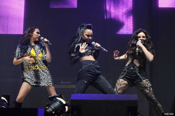 Little Mix Perform Without Perrie Edwards As She Spends Time With Zayn Malik In New