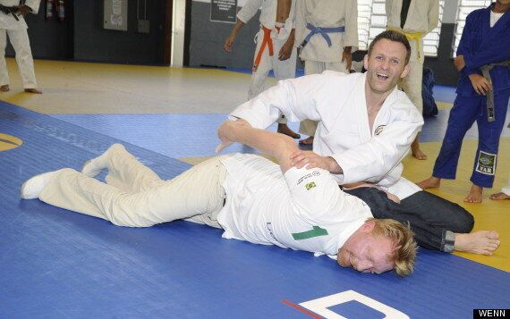 Boris Becker Does Judo