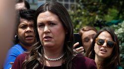 La porte-parole de la Maison-Blanche Sarah Sanders quitte son