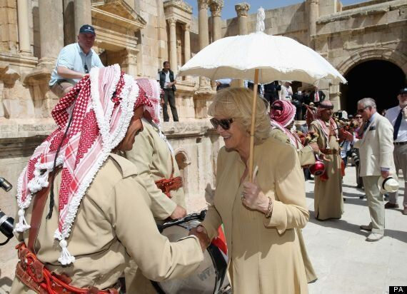 Prince Charles And Camilla Visit Syrian Conflict Refugee Camps In