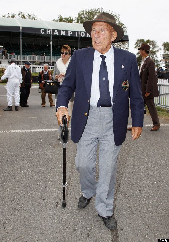 Sir Stirling Moss Doesn't Want A 'Poofter' To Play Him On