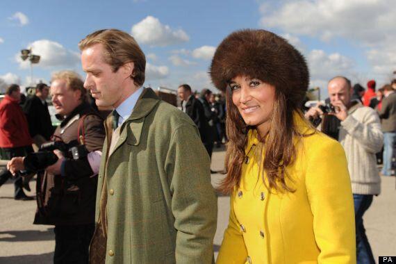 Pippa Middleton Goes To Cheltenham Races With Tom Kingston