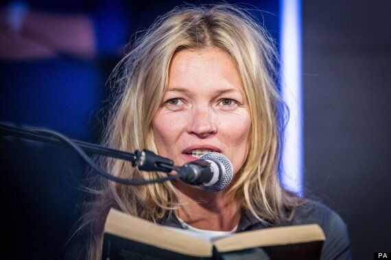 Kate Moss Reads 50 Shades Of Grey Live On Air For Comic
