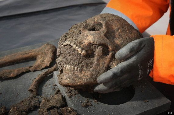 'Black Death' Skeletons Found In Farringdon Crossrail Excavations